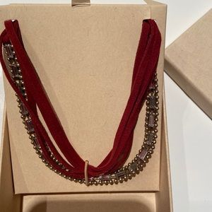 Jen Atkins necklace/headband NWT